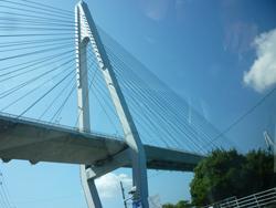 生口島から大三島にかかる多々羅大橋