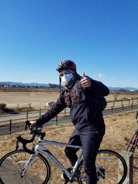 恒例の元旦サイクリング